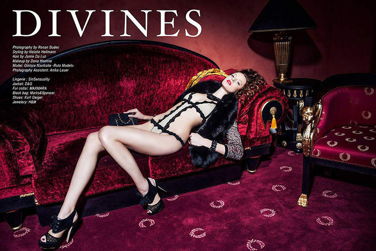 SinSensuality 'Divines' PAF Magazine, issue 1/2013